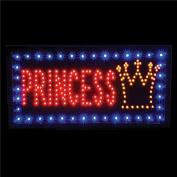 One Light UP LED Princess Tiara Crown Sign