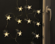 Gravidus LED Fairy String Lights with Stars, Battery Operated