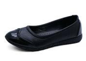 HeelzSoHigh Girls Childrens Ballet Black School Smart Flat Kids Shoes Pumps Sizes 12-3