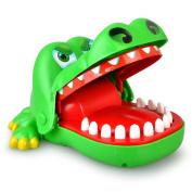 TJW Creative Children Kids Crocodile Mouth Dentist Bite Finger Family Game Toy Finger Biting Toy