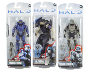McFarlane Toys Halo 4 Series 3 Set of 3 Action Figures 15cm Action Figures