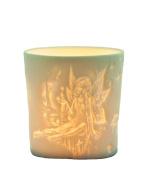 """Plaristo Kerzenfarm """"Elf"""" Votive Porcelain Tealight Cup, White, 6 cm High"""