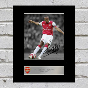 Thierry Henry Signed Mounted Photo Display Arsenal FC