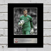 Fraser Forster Signed Mounted Photo Display Southampton FC