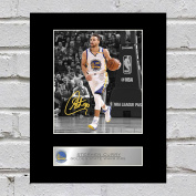 Stephen Curry Signed Mounted Photo Display Golden State Warriors