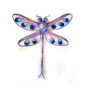 Purple Glitter Dragonfly Small