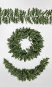 """Suntime """"Kateson"""" Fir Wreath with 150 Tips, Green, 60 cm"""