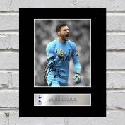 Hugo Lloris Signed Mounted Photo Display Tottenham Hotspur FC