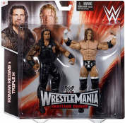 WWE Wrestling Wrestlemania Heritage Roman Reigns & Triple H Action Figure 2-Pack
