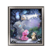 ChengYa Bear & Dog 5D Diamond Embroidery DIY Painting Cross Stitch for Home Decoration