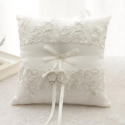 Wedding Ring Pillow Flowers Wedding Ring Holder Marriage Ring Cushion Bearer Wedding Party Decoration Event Party Supplies