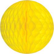 Tissue Paper Honeycomb Ball Decoration 20cm - Yellows #4702-084