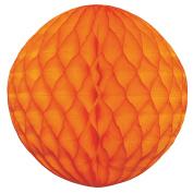 Tissue Paper Honeycomb Ball Decoration 20cm - Orange #4702-005