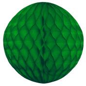Tissue Paper Honeycomb Ball Decoration 20cm - Green #4702-003