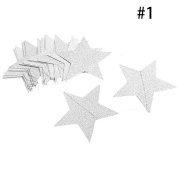 LUVCALS Stars Hanging Paper Garlands Christmas Wedding Party Birthday Baby Shower Table Decoration