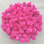 Pink 30mm Foam Rose Flowers Decorative Craft Flowers