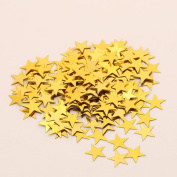 Five-pointed Star Sequins ,Clode®Multicoloured Stars Confetti Sequin Confetti Glitter No hole Embellishment Suit for Wedding Birthday Party Proposal Party Home Decorate