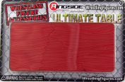 Ultimate Table (Red) - Ringside Collectibles Exclusive Toy Wrestling Action Figure Accessories