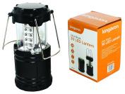 Kingavon Ultra Bright 30 LED Lantern, Plastic, Black