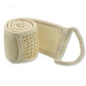 Cotton and Linen Exfoliating Loofah Back Strap Bath Shower Scrubber Sponge Body Exfoliator Brush