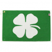 Player Supreme Luck of the Irish 4-Leaf Clover Golf Towel