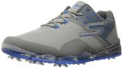 NEW Skechers Go Golf Focus Grey/Blue Men's Size 9.5 M Golf Shoes