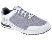 NEW Skechers Go Golf Drive 3 White/Grey Men's Size 9 Golf Shoes