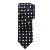 Boys' Cufflinks Inc Battle Ships Big Boys' Silk Tie