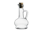 Dajar Oil and Vinegar Carafe Glass 260 ml Pasabahce – Clear – 8 x 8 x 16.5 cm