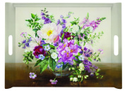 Easy Life 52 x 39 x 14 cm Tray with Handles, Multi-Colour