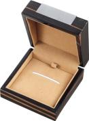 Visol Products Kadar Ebony Finish Wooden Jewellery Gift Box