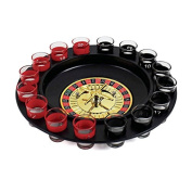 Roulette Drinking Game including 16 shot glasses