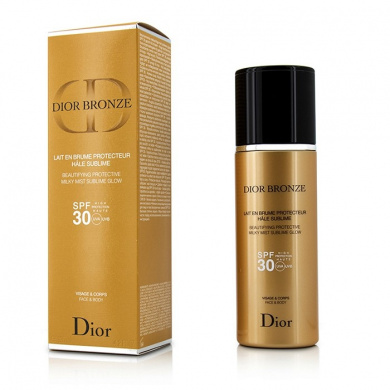 Christian Dior - Dior Bronze Beautifying Protective Milky Mist Sublime Glow SPF 30 For Face & Body -125ml/4.2oz