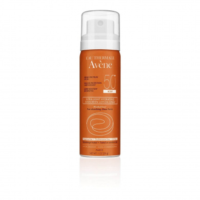 Avene 150ml Ultra-Light Hydrating Lotion Spray SPF 50 Sunscreen