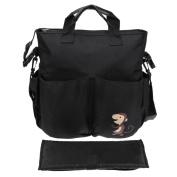 Domybest Baby Stroller Organiser Accessory Big Capacity Handbag Shoulder Bag for Mom