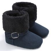 For 0-18M Baby Boots,Woopower Winter Newborn Boy Girl Warm Thick Soft-soled High Top Prewalker