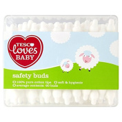Tesco Loves Baby Safety Buds 60 Pack