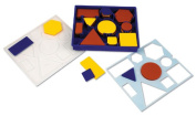 Learning Resources Giant Attribute Blocks In Sorting Tray