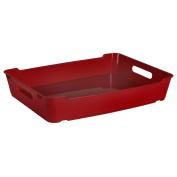 """Keeeper """"Loft"""" Deco Basket, Wine Red, Size A4"""