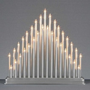 33 Led lights candles Tower –Great for Christmas indoor Window decoration