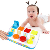 Kimimart Baby Pop Up Early Development Toy - Learning Education Toy for .