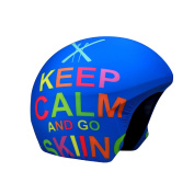 Coolcasc Keep Calm Print helmet cover