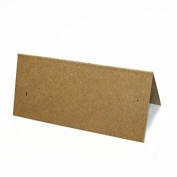 50 Kraft Recycled Blank Table/Place cards for weddings/partys etc
