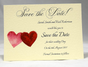 Invitations by Shell Windsor Save the Date Cards -Painted Love