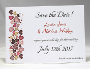 Invitations by Shell Windsor Save the Date Cards -Love Sweet Love