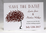 Invitations by Shell Windsor Save the Date Cards -Love Blossoms