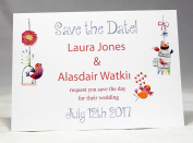 Invitations by Shell Windsor Save the Date Cards -Love Birds
