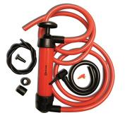 Zento Deals 3-in-1 Hand Syphon Pump Gas/Liquid/Air Manual Travel Emergency Vehicle Pump