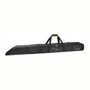 High Sierra Double Adjustable Ski Bag, Black/Zest