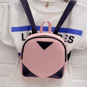 Women Canvas Rucksack Fcostume Concise Backpack School Book Shoulder Bag